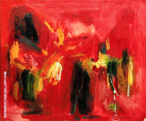 Festive Pink, 1959 Painting By Hans Hofmann - Reproduction Gallery