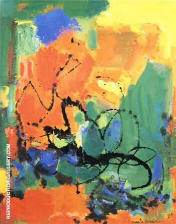 Burning Bush, 1959 By Hans Hofmann