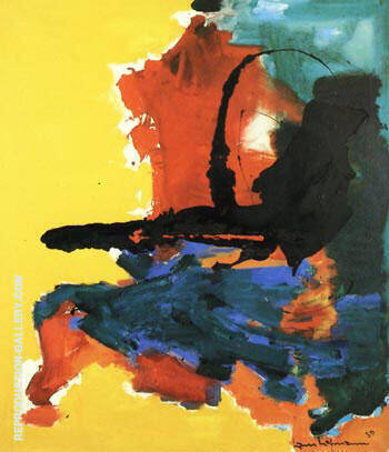 Chimera, 1959 By Hans Hofmann Replica Paintings on Canvas - Reproduction Gallery
