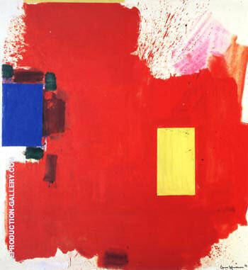 Magnum Opus, 1962 Painting By Hans Hofmann - Reproduction Gallery