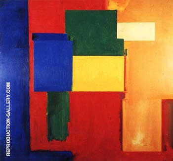To Miz-Pax Vobiscum, 1964 By Hans Hofmann Replica Paintings on Canvas - Reproduction Gallery