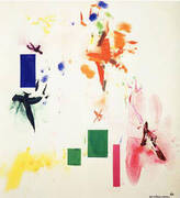 Joy Sparks of the Gods ll, 1965 By Hans Hofmann