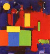 Rising Moon, 1965 By Hans Hofmann
