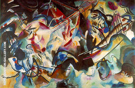 Composition VI 1913 Painting By Wassily Kandinsky - Reproduction Gallery