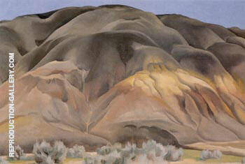 Grey Hill Forms By Georgia O'Keeffe - Oil Paintings & Art Reproductions - Reproduction Gallery