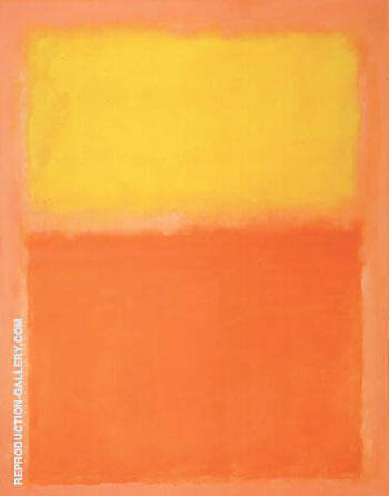 Orange and Yellow 1956 2 By Mark Rothko Replica Paintings on Canvas - Reproduction Gallery