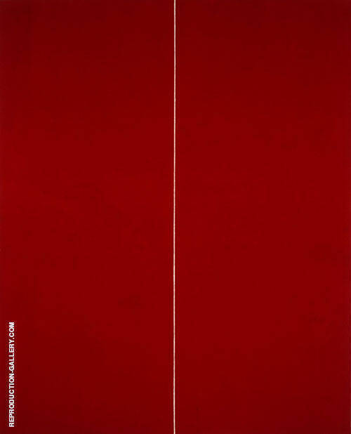 Be I 1949 Painting By Barnett Newman - Reproduction Gallery
