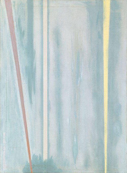 The Beginning 1946 Painting By Barnett Newman - Reproduction Gallery
