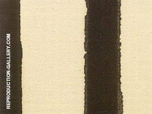 Detail of Black Fire I 1961 By Barnett Newman