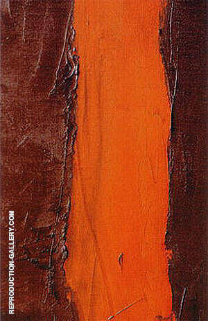 Detail of End of Silence 1949 Painting By Barnett Newman