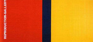 Who's Afraid of Red Yellow and Blue IV 1969-70 By Barnett Newman