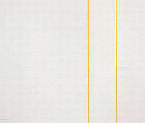 The Moment I 1962 By Barnett Newman