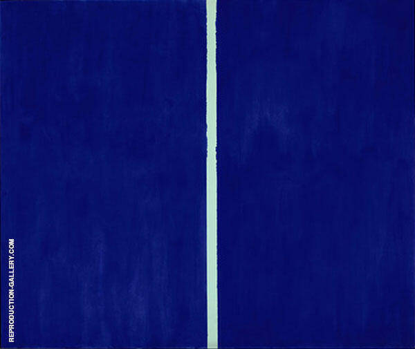 Onement VI 1953 Painting By Barnett Newman - Reproduction Gallery