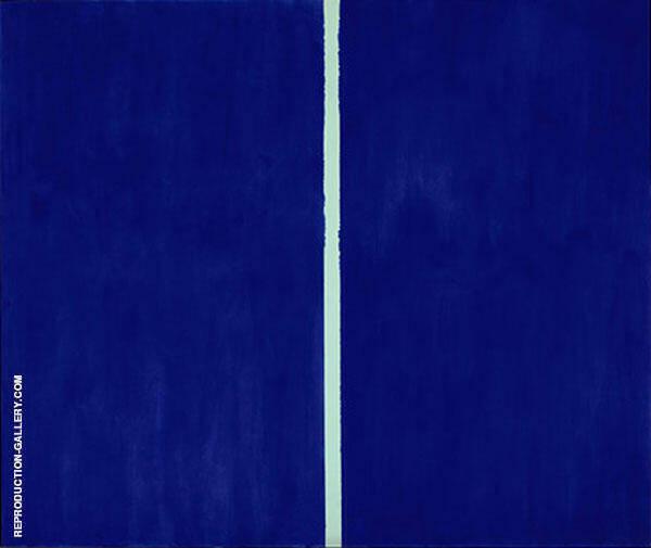 Onement VI 1953 By Barnett Newman