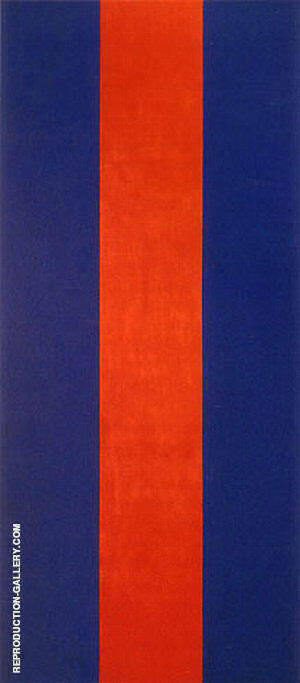 Voice of Fire 1967 Painting By Barnett Newman - Reproduction Gallery