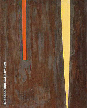 Untitled 1946 By Barnett Newman