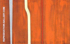 No 28 Untitled 1946 Painting By Barnett Newman - Reproduction Gallery