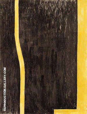 Euclidian Abyss 1946-47 By Barnett Newman