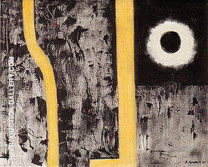 Death of Euclid 1947 By Barnett Newman - Oil Paintings & Art Reproductions - Reproduction Gallery