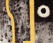 Death of Euclid 1947 By Barnett Newman