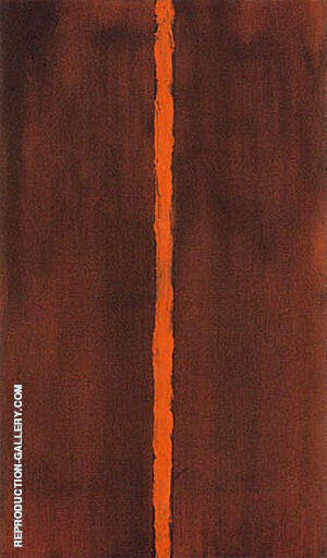 Onement I 1948 By Barnett Newman - Oil Paintings & Art Reproductions - Reproduction Gallery