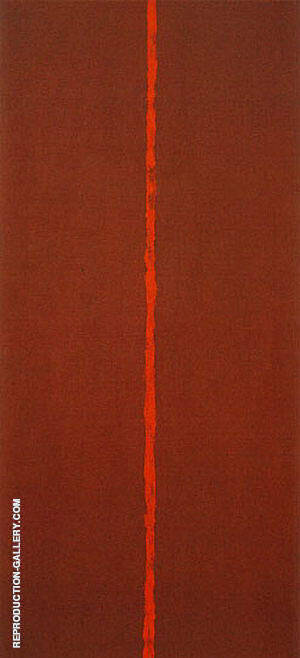 Onement III 1949 Painting By Barnett Newman - Reproduction Gallery