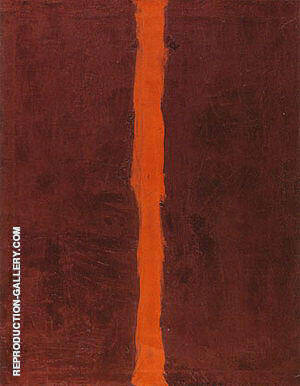 End Of Silence 1949 By Barnett Newman