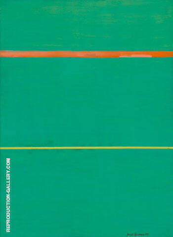 Reproduction of Dionysius 1949 by Barnett Newman | Oil Painting Replica On CanvasReproduction Gallery