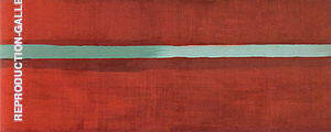 Horizon Light 1949 Painting By Barnett Newman - Reproduction Gallery