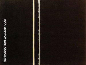 The Promise 1949 Painting By Barnett Newman - Reproduction Gallery