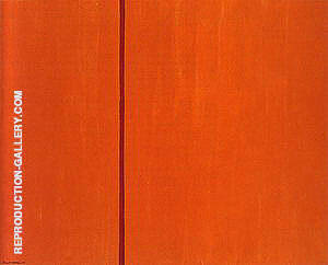 Tundra 1950 Painting By Barnett Newman - Reproduction Gallery