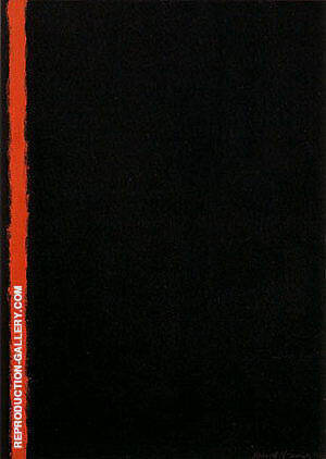 Joshua 1950 Painting By Barnett Newman - Reproduction Gallery