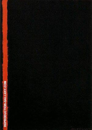 Joshua 1950 By Barnett Newman