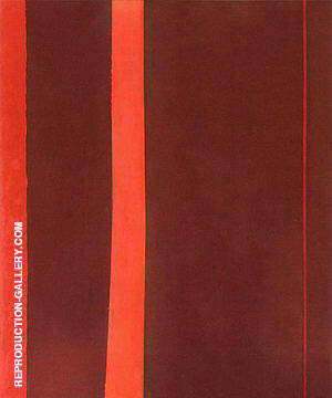 Adam 1951 By Barnett Newman Replica Paintings on Canvas - Reproduction Gallery
