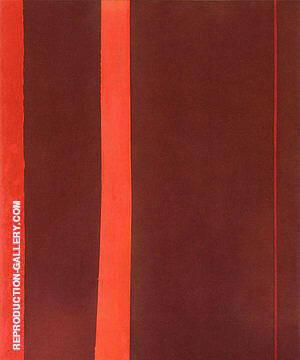 Adam 1951 By Barnett Newman