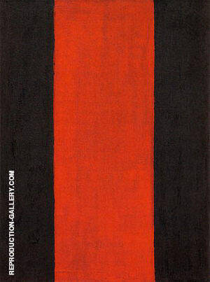 The Way I 1951 By Barnett Newman - Oil Paintings & Art Reproductions - Reproduction Gallery