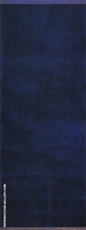 Day Before One 1951 Painting By Barnett Newman - Reproduction Gallery