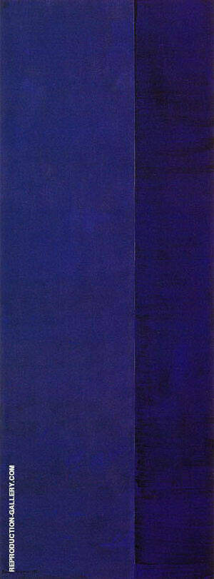 Ulysses 1952 Painting By Barnett Newman - Reproduction Gallery