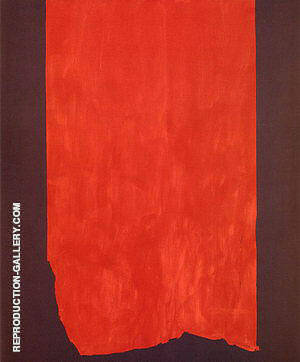 Achilles 1952 Painting By Barnett Newman - Reproduction Gallery