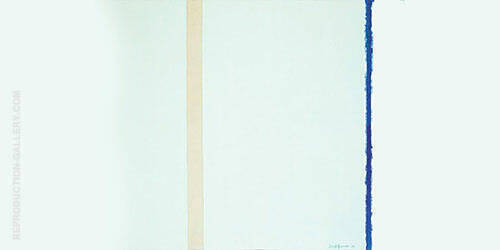 Reproduction of White Fire I 1954 by Barnett Newman | Oil Painting Replica On CanvasReproduction Gallery