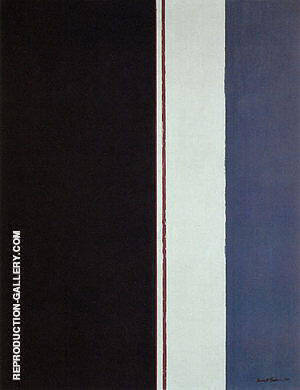 The Word II 1954 By Barnett Newman