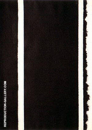 No 63 Untitled 1960 Painting By Barnett Newman - Reproduction Gallery