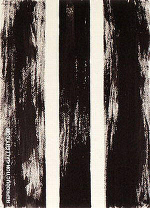 No 64 Untitled 1960 Painting By Barnett Newman - Reproduction Gallery
