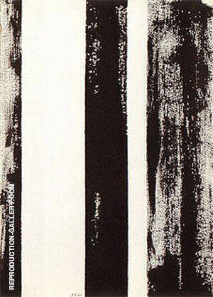 No 65 Untitled 1960 By Barnett Newman