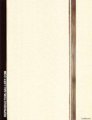 Second Station 1958 By Barnett Newman