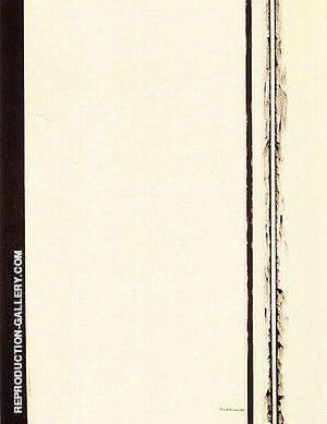 Third Station 1960 By Barnett Newman