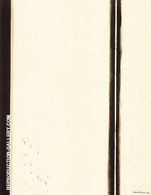 Fourth Station 1960 By Barnett Newman