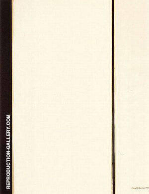 Sixth Station 1962 By Barnett Newman