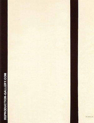 Eighth Station 1964 By Barnett Newman