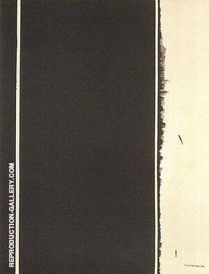Twelfth Station 1965 Painting By Barnett Newman - Reproduction Gallery